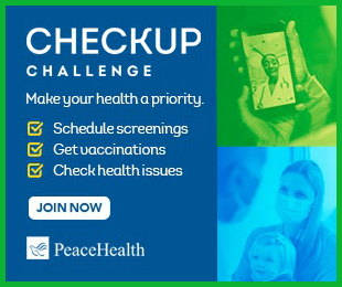 PeaceHealth Checkup Challenge
